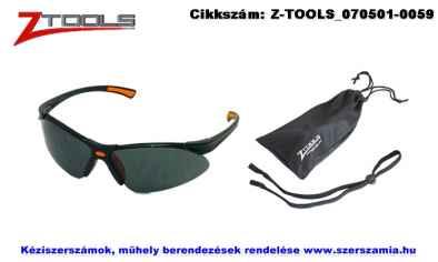 Z-TOOLS védőszemüveg 3 részes füstszínű UV400 ZTP7599F