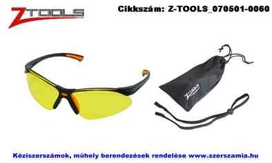 Z-TOOLS védőszemüveg 3 részes sárga ZTP7599S
