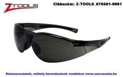 Z-TOOLS védőszemüveg füstszínű UV400 ZTE5623F, 10db/csomag