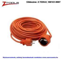 Z-TOOLS lengő hosszabbító kábel PVC szig. 10m 3x1,5 230V