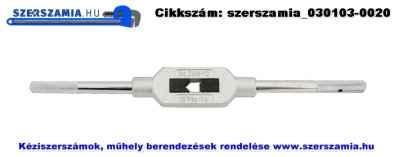 Menetfúró hajtóvas cink présöntvény DIN1815 I. M1-12 2,0-7,1