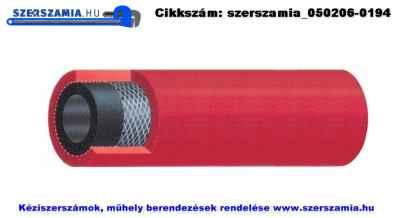 Autogén tömlő, acetilén d6/13mm, 50m/tekercs