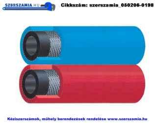 Autogén ikertömlő, oxigén plusz acetilén d6/13 plusz d8/15mm, 50m/tekercs