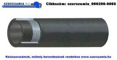 Gumi szövetbetétes préslégtömlő d6/13mm, 50m/tekercs