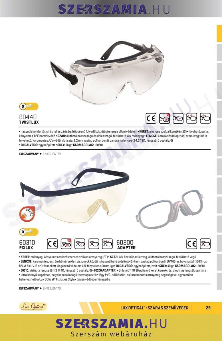 69edbe726f FIXLUX Karcmentes szemüveg, 1 darab   SZERSZAMIA.hu