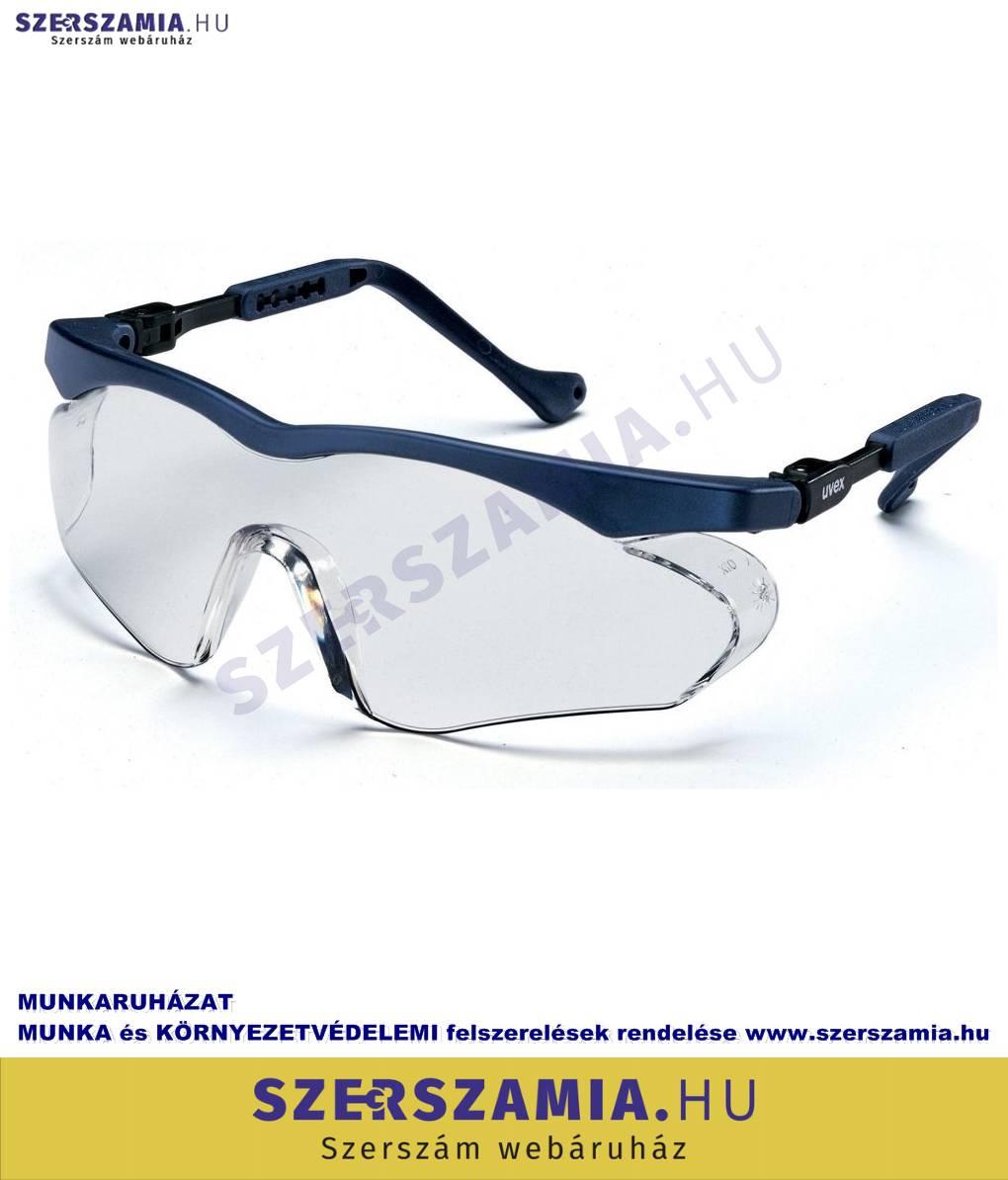 b96aee5fd5 UVEX Skyper SX2 szemüveg, kék keret, víztiszta lencse, 1 darab ...